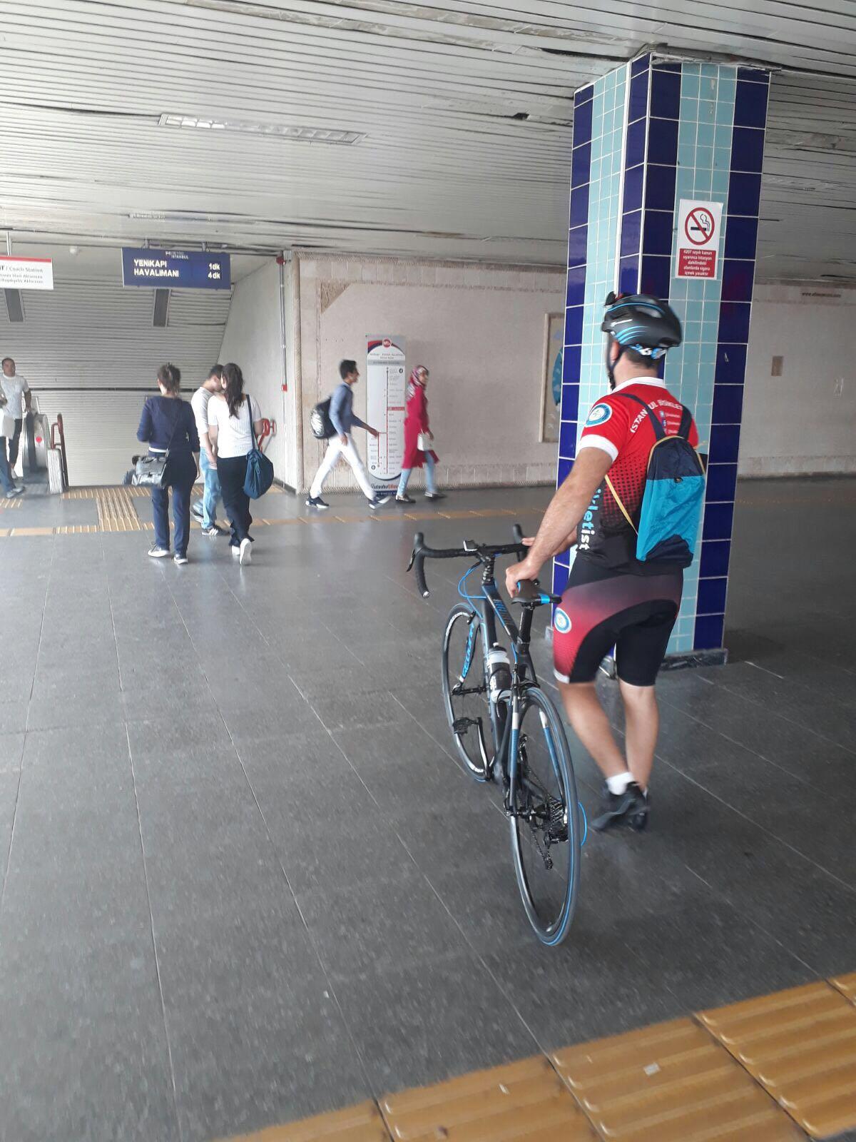 """Akıllı Hareketlilik Haftası Kapsamında """"Bisiklet ile Kargo Taşımacılığı"""" Yapıldı"""