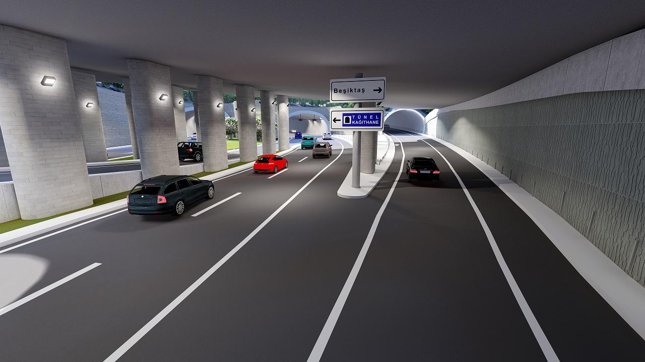 Dolmabahçe - Levazım Tüneli