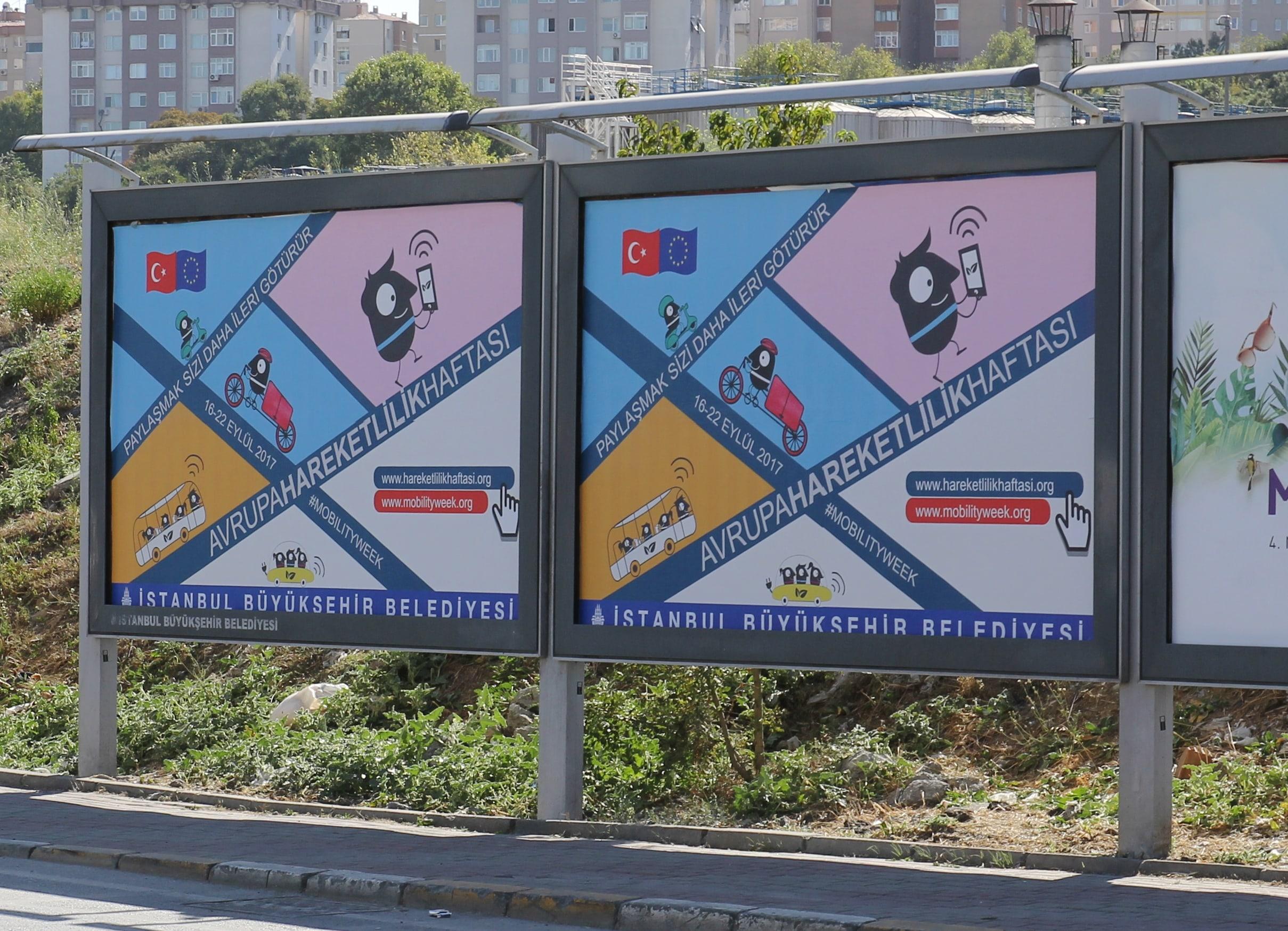 Avrupa Hareketlilik Haftası Tanıtım ve Görünürlük Faaliyetleri